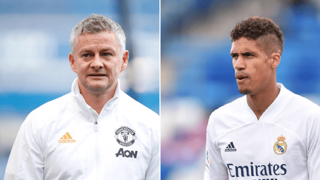 Ole Gunnar Solskjaer is under pressure after Manchester United landed Raphael Varane, says Ray Parlour.