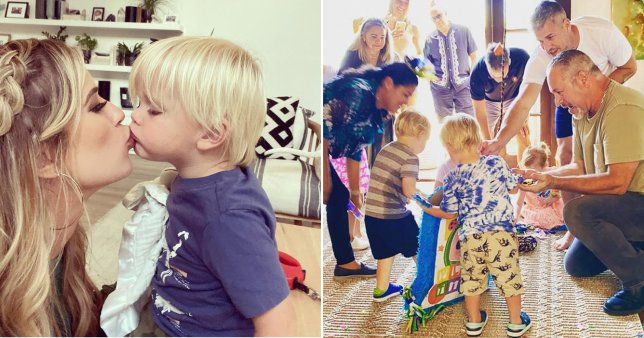 Christina Haack and Ant Anstead celebrate son Hudson's second birthday