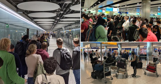 Heathrow chaos for twelfth day in a row