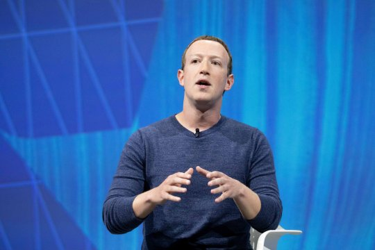 PARIS, FRANCE - MAY 24: Mark Zuckerberg, chief executive officer and founder of Facebook Inc. attends the Viva Tech start-up and technology gathering at Parc des Expositions Porte de Versailles on May 24, 2018 in Paris, France. The VivaTech exhibition in Paris brings together nearly 1800 start ups alongside the largest international groups. (Photo by Christophe Morin/IP3/Getty Images)