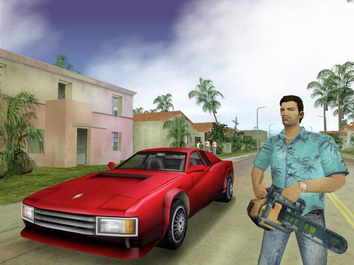 Grand Theft Auto Vice City original game