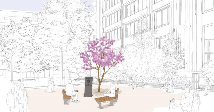 Plans for a memorial to TfL transport workers who died with Covid.