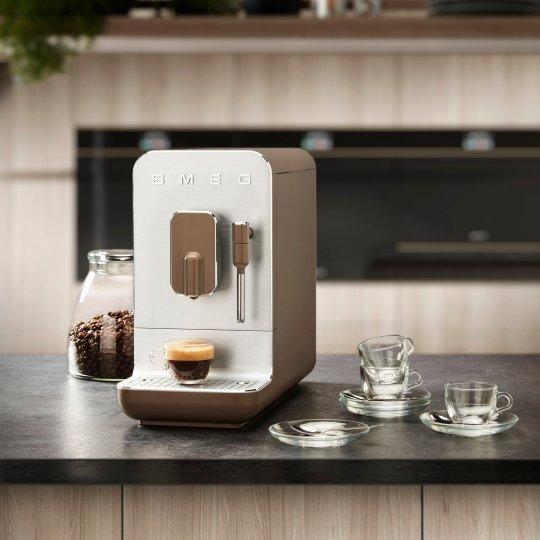 The Smeg Bean to Cup coffee machine (Smeg)