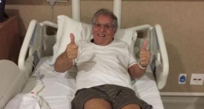 Após três dias internado, Carlos Alberto de Nóbrega tranquiliza fãs: 'Só foi um susto'