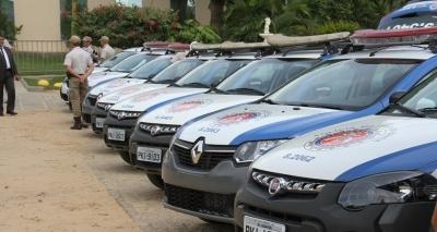 Autoridades entregam 11 viaturas para reforçar a segurança de Juazeiro e outros municípios
