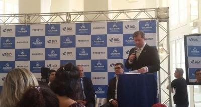 'Importante não só para a Bahia, mas para o Brasil', diz ministro do Turismo sobre empréstimo do BID