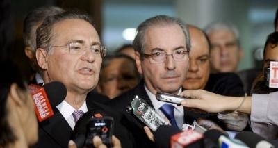 Renan ataca presidente e chama Cunha de