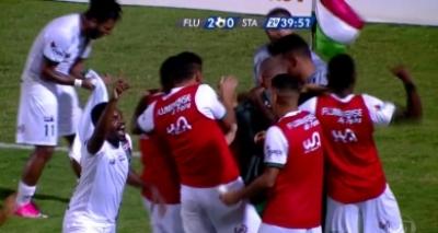 Flu de Feira vence por 2 a 0 e despacha Santa Cruz da Copa do Brasil
