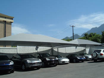 Cantilever Shade Structures | Ideal For Column-Free Areas