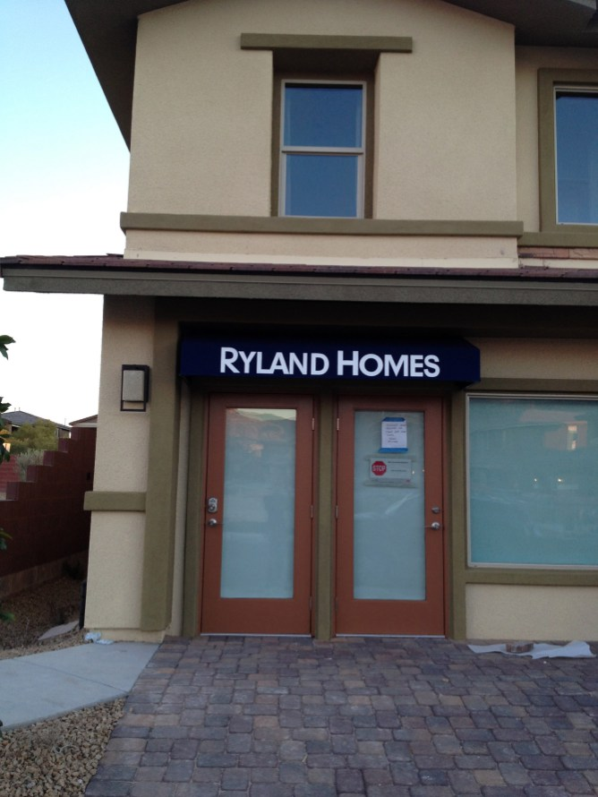 Ryland Homes Commercial Awning System by Metro Awnings & Iron of Las Vegas