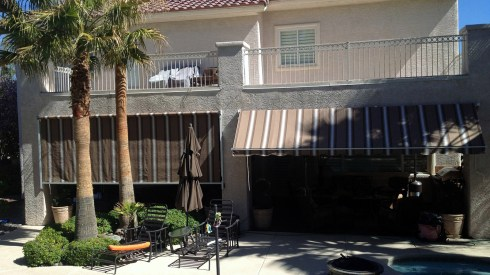 Custom Awnings by Metro Awnings & Iron of Las Vegas Nevada