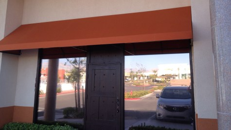 Commercial Awning System by Metro Awnings & Iron of Las Vegas
