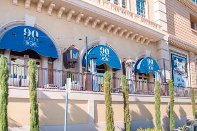 90 Ninety Bar & Grill Suncoast Hotel - Awnings by Metro Awnings Las Vegas