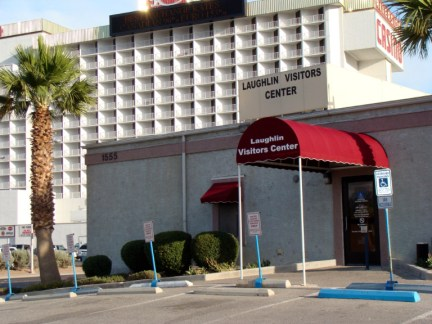 Laughlin Visitors Center Custom Entry Canopy by Metro Awnings & Iron of Las Vegas, Nevada