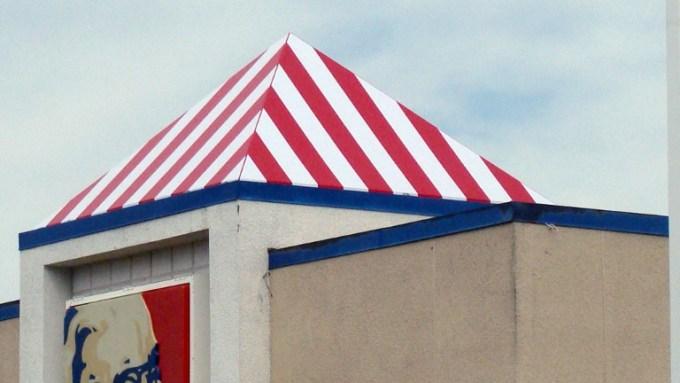 KFC Custom Awning by Metro Awnings & Iron in Las Vegas, Nevada