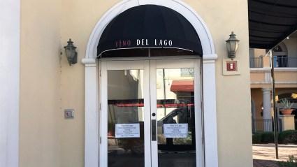 Vino Del Lago Commercial Awning