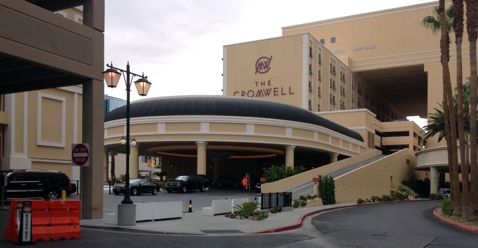 Commercial Awning for The Cromwell in Las Vegas, Nevada by Metro Awnings & Iron