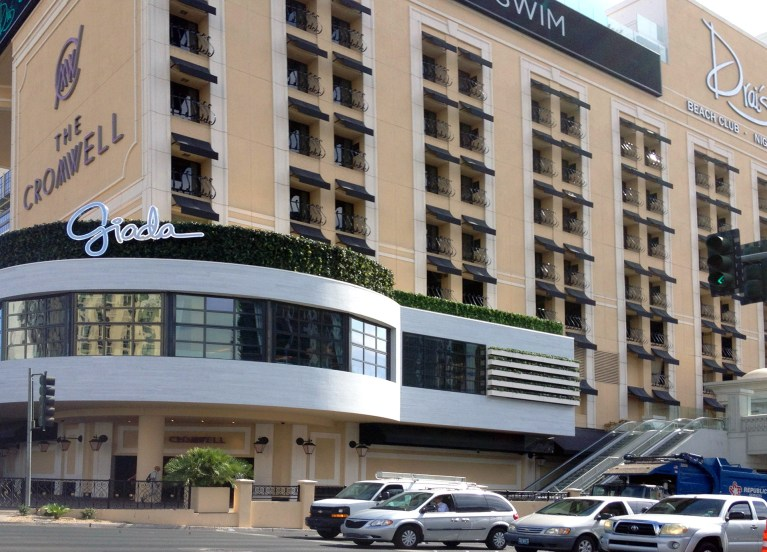 The Cromwell Hotel & Casino - Awning and Shade Structures by Metro Awnings of Las Vegas, Nevada