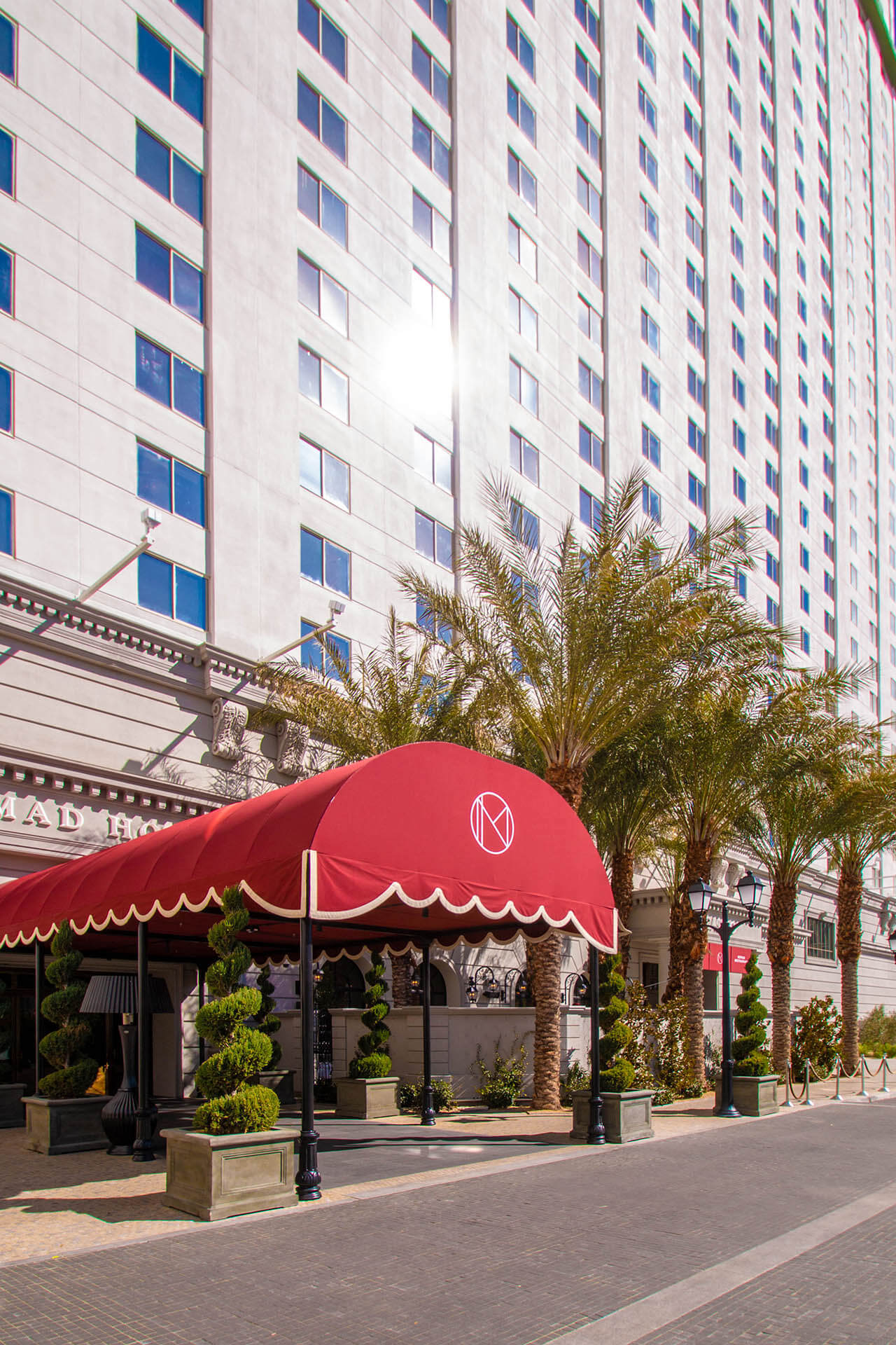 NoMad Hotel of Las Vegas, at Park MGM - Commercial Awning ...