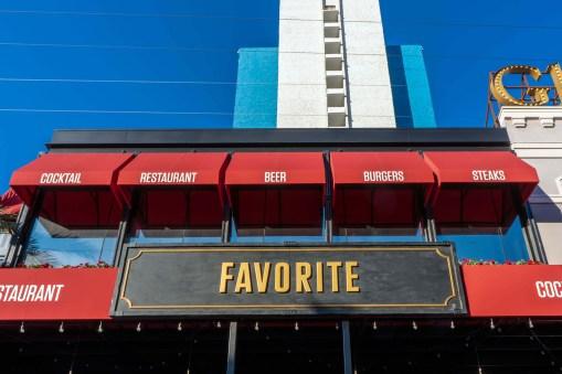 Favorite Bistro at the LINQ Promenade Las Vegas, Nevada - Awning