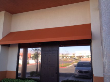 Commercial Awning Convex