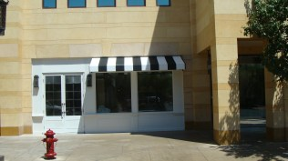 Commercial Convex Strip Awning