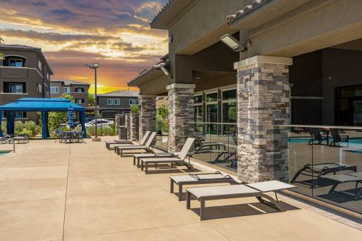 Level 25 Poolside Cabanas by Metro Awnings