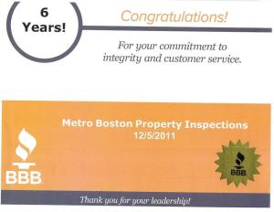 BBB 6 years Metro Boston