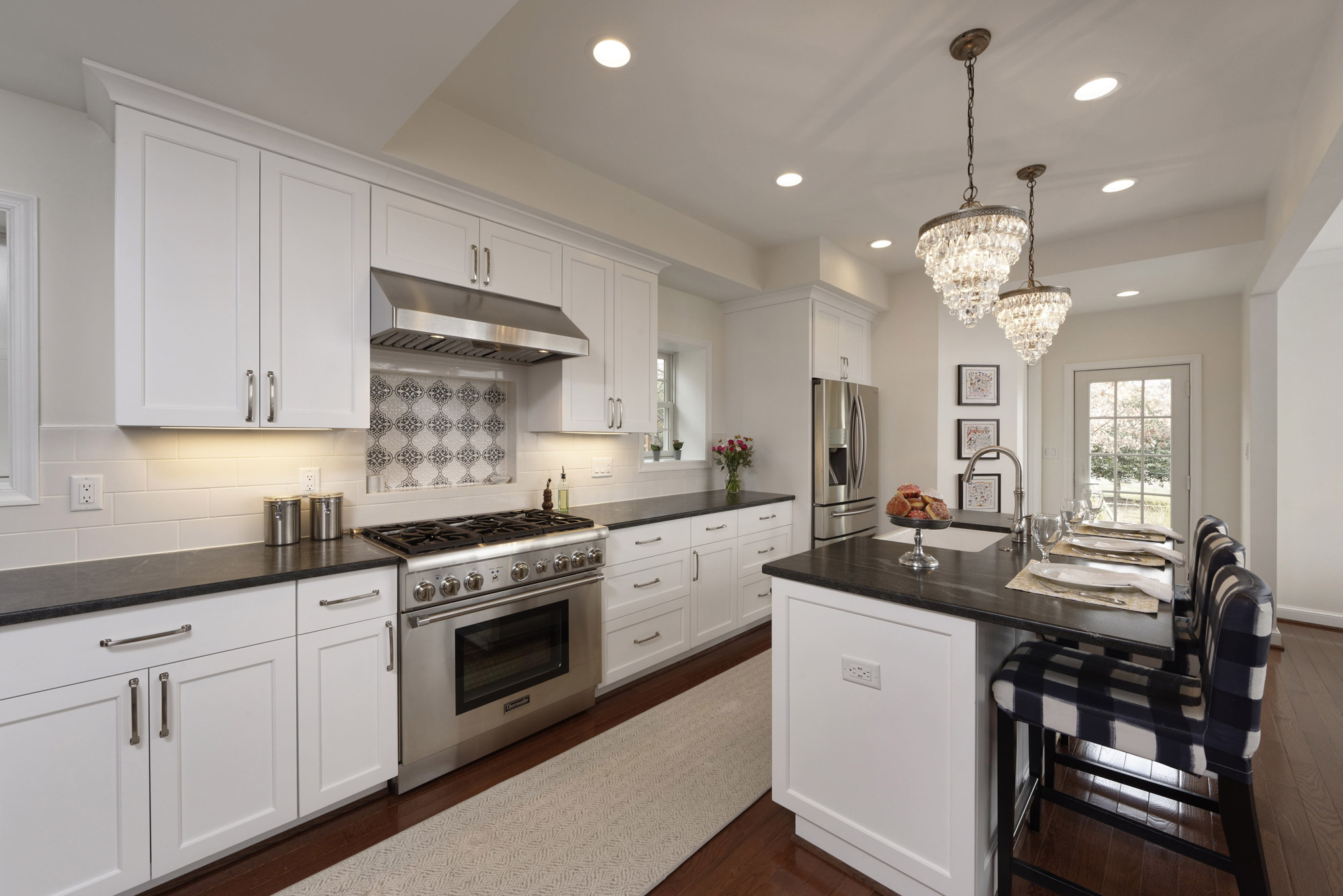 cost to renovate a kitchen farmhouse style table average remodel costs in dc metro area va md