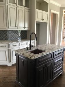 how to install laundry cabinets