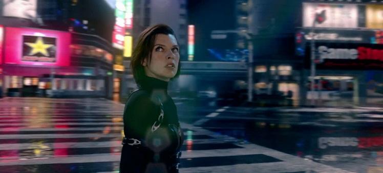 Resident Evil Retribution - Times Square