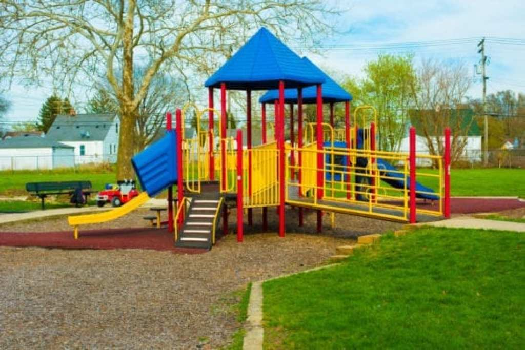 Toddler Play Structure at Dad Butler Park in Detroit