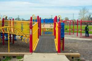 Boundless Playground at Dad Butler Park in Detroit
