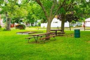 picnic tables  Play 4 All at Soroptimist Park