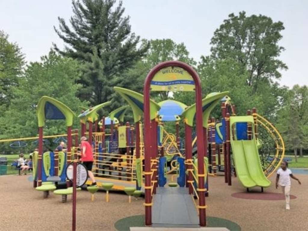 Rotary Park in Livonia Universally Accessible Playscape