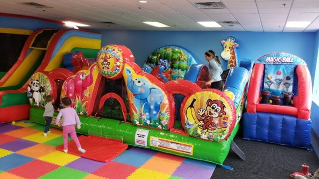 Bounce Houses at Funrageous in Livonia
