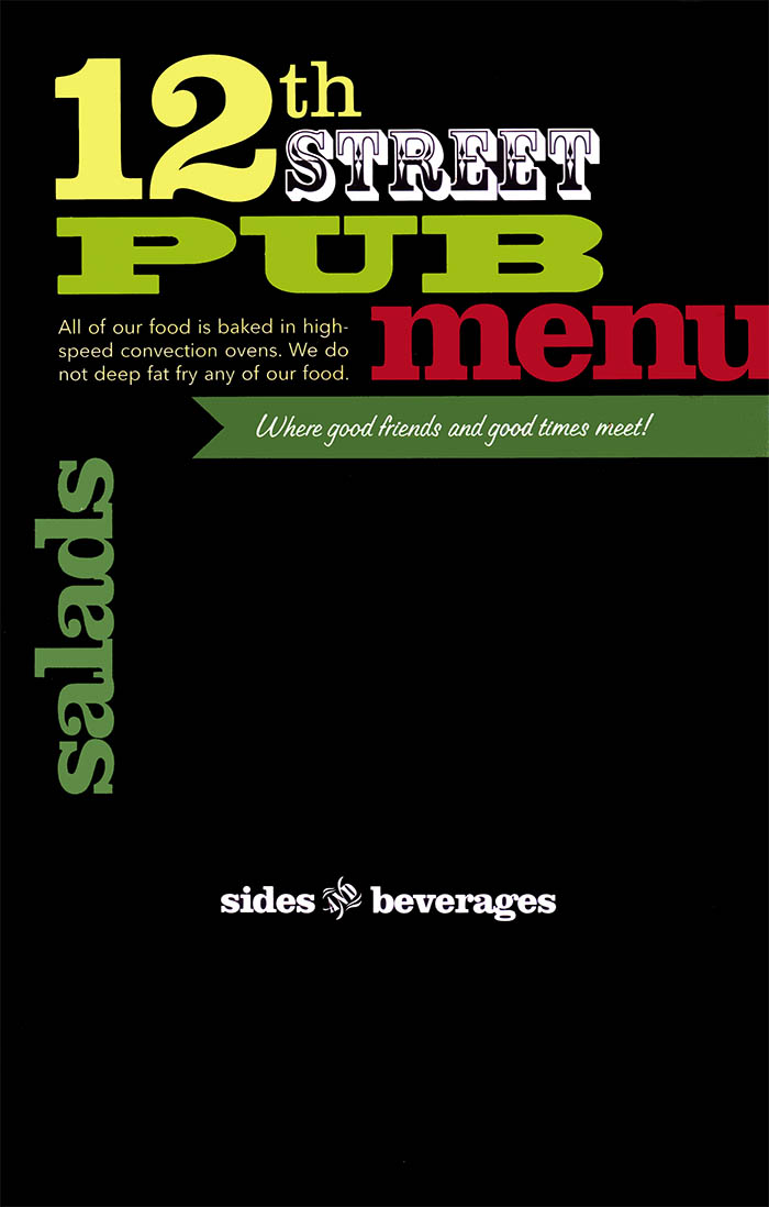 12th Street Pub  Menu  Delivery  Order Online  Lincoln NE CityWide Delivery  Metro Dining