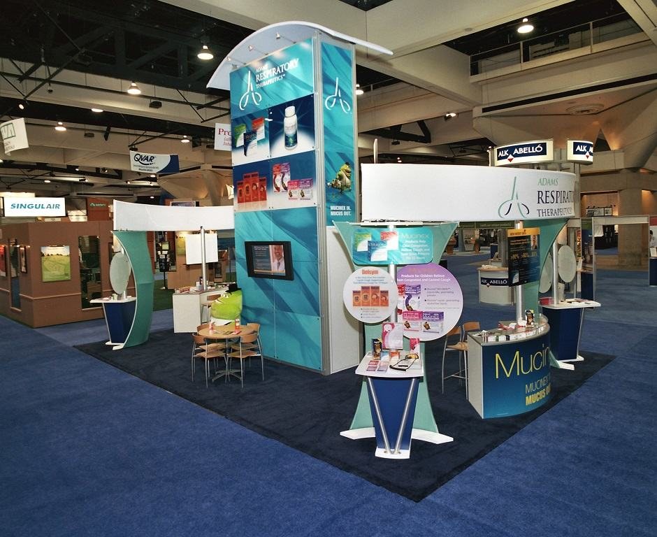 Pharmaceutical Trade Show Display Ideas  Custom Exhibits