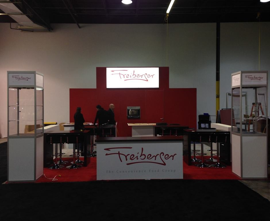 Food & Beverage Trade Show Display Ideas Custom Exhibits