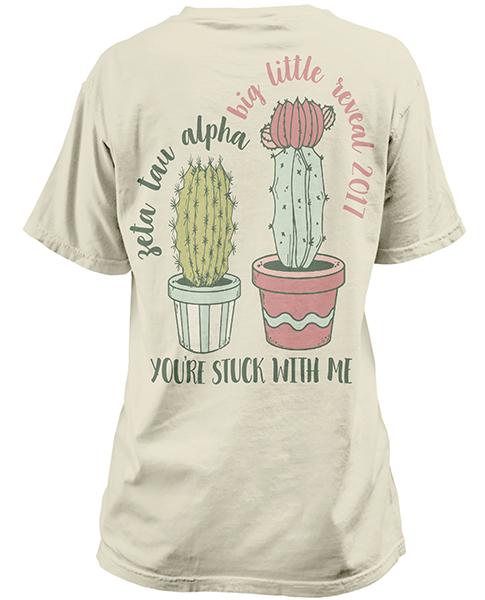 1315 Zeta Tau Alpha Big Little Shirt  Greek Shirts