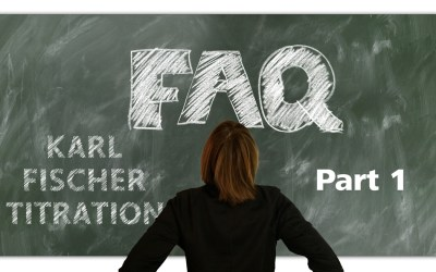 Frequently asked questions in Karl Fischer titration – Part 1