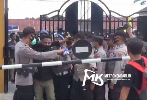 Kekerasan wartawan di Kendari