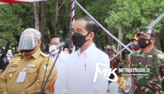 Presiden Jokowi Doakan Wali Kota Kendari