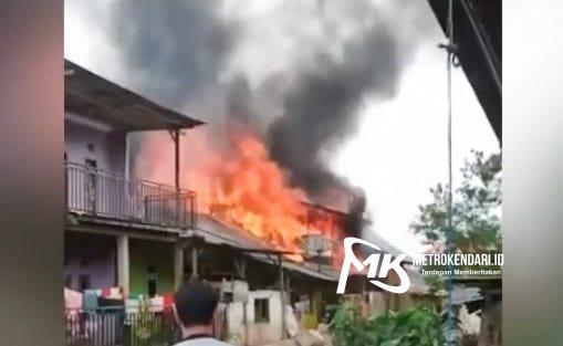 Kebakaran rumah Kendari