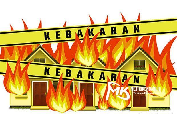Kebakaran di Sultra