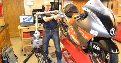 Scanning Speed and Accuracy Aids Record Attempt