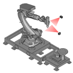 Novel Robot Laser Tracking System Has Disruptive Factory Of The Future Potential