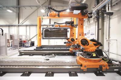 Aerospace Wing Structures Robotic Inspection System – Metrology and