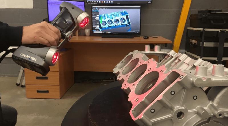 Motor Sport Innovations Aided By 3D Scanner – Metrology and Quality