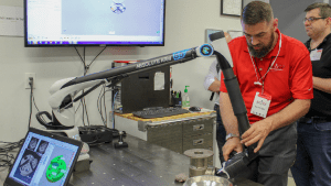 In-place machining acquires exact metrology